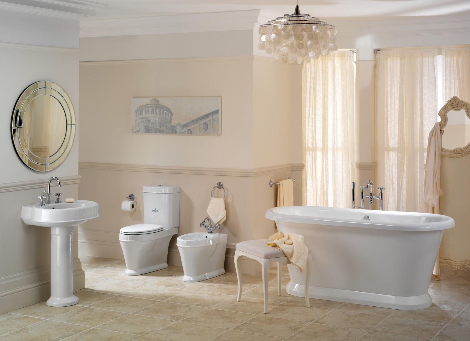 Ванная античный стиль