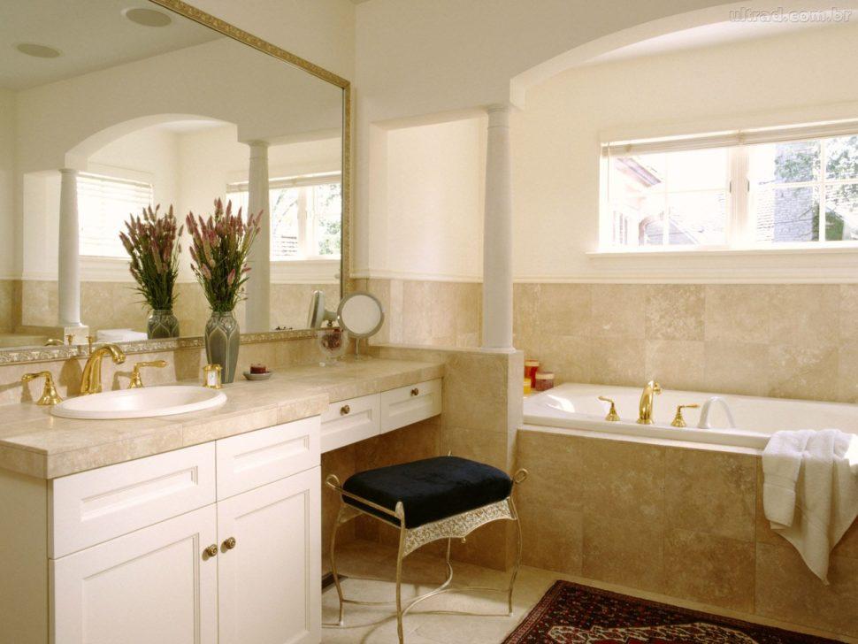 античный стиль интерьер ванной